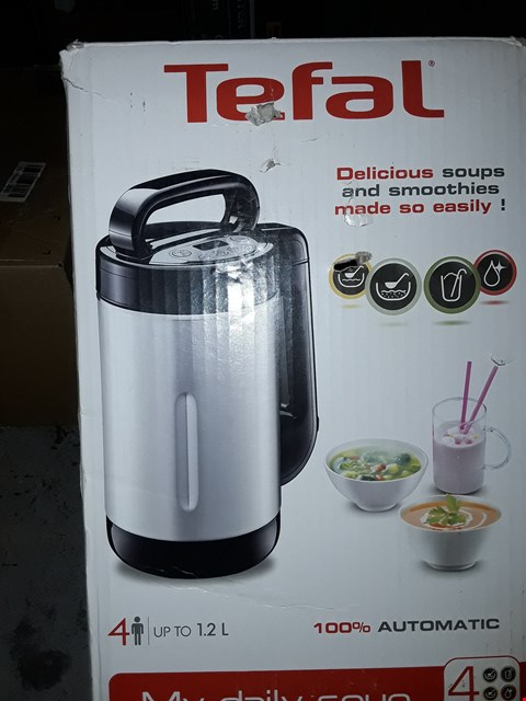 Lot 661 TEFAL MY DAILY SOUP AND SMOOTHIE MAKER