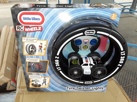 Lot 140 LITTLE TIME RC WHEELZ TYRE TWISTED LIGHTS