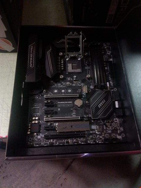 Lot 279 MSI MOTHERBOARD GAMING PRO Z270