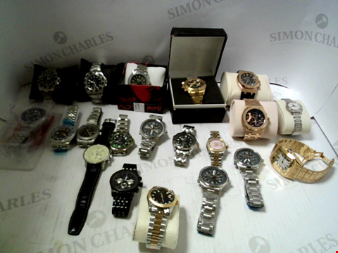 Lot 7132 LOT OF APPROXIMATELY 20 ASSORTED WRISTWATCHES
