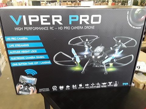 Lot 932 VIPER PRO DRONE WITH HD CAMERA