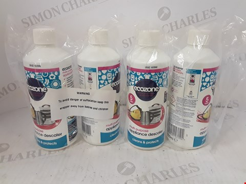 Lot 754 3 BOXES OF APPROXIMATELY 12 ASSORTED BOTTLES OF ECOZONE MULTI-PURPOSE APPLIANCE DESCALER