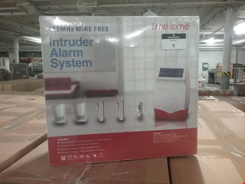 Lot 8 BOXED LUX HOME INTRUDER ALARM SYSTEM
