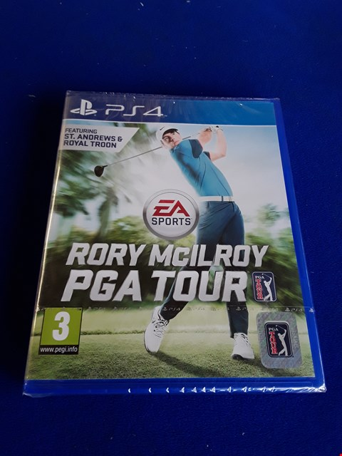 Lot 7652 RORY MCILROY PGA TOUR PLAYSTATION 4 GAME