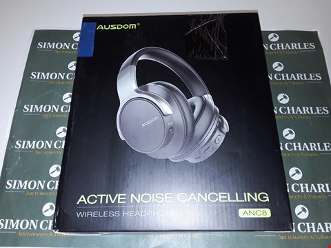 Lot 6103 AUSDOM ACTIVE NOISE CANCELLING WIRELESS HEADPHONED ANC8