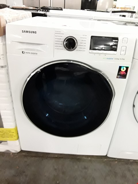Lot 41 SAMSUNG WD90J6410AW WHITE ECOBUBBLE 9/6KG WASHER DRYER  RRP £859