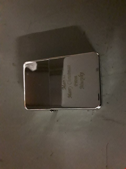 Lot 1154 LOT OF APPROXIMATELY 5 PERSONALISED SILVER LIGHTERS  RRP £65
