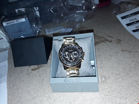 Lot 9316 DESIGNER GUESS HORIZON CHRONOGRAPH RRP £249.00