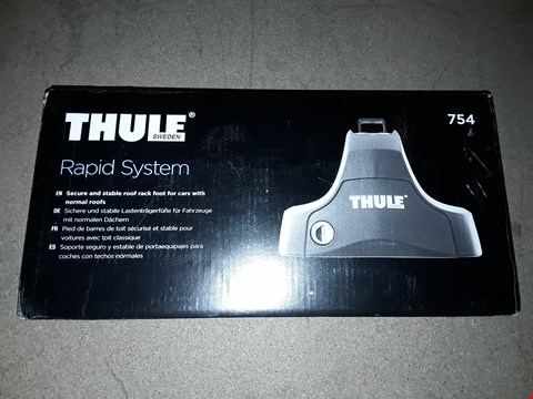 Lot 1323 THULE RAPID SYSTEM ROOF RACK FOOT