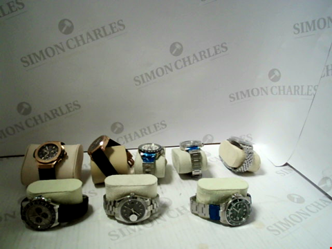 Lot 7135 LOT OF 8 ASSORTED WRISWATCHES