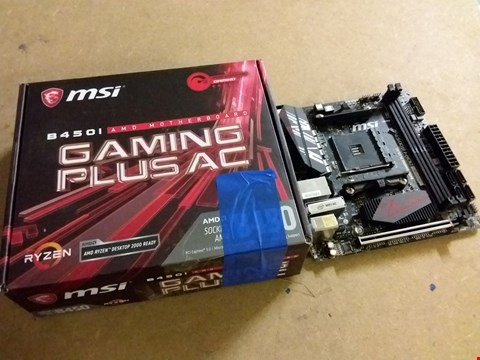 Lot 989 MSI B450I GAMING PLUS AC AMD MOTHERBOARD