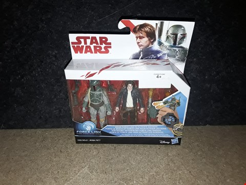 Lot 3007 STARWARS HAN SOLO + BOBA FETT FIGURES