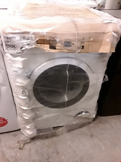 Lot 10006 BOSCH WAT28370GB WHITE 1400 SPIN 9 KG WASHING MACHINE  RRP £679.00