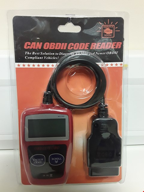 Lot 4091 CAN OBII CODE READER