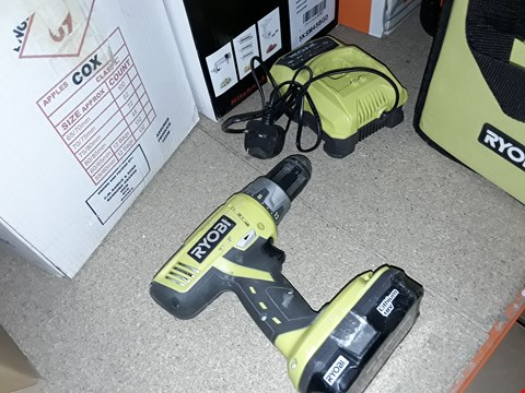 Lot 548 RYOBI LITHIUM 18V WITH CHARGER