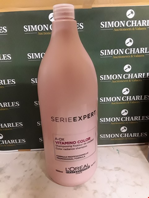 Lot 12097 LOREAL STYLE SERIEXPERT A-OX VITAMINO COLOUR SHAMPOO - 1500ML