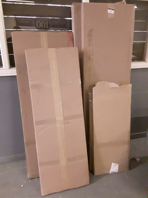 Lot 12019 ASSORTED FLAT PACK FURNITURE PARTS APPROXIMATELY 6 BOXES