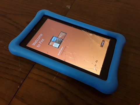 "Lot 9003 AMAZON FIRE 7 KIDS EDITION 7"" TABLET - BLUE"