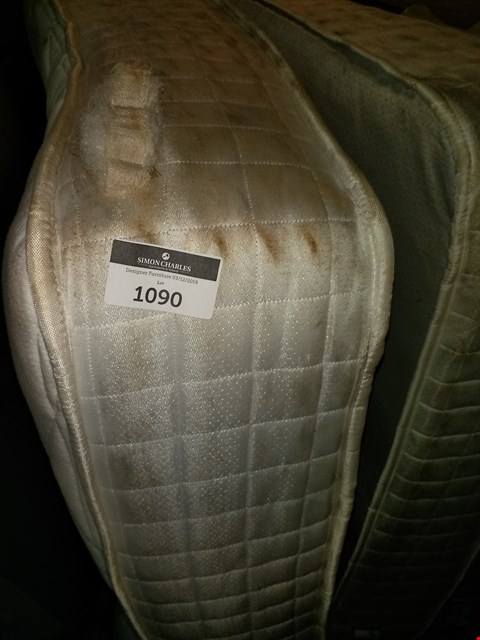 Lot 1090 6FT POCKET SPRING MATTRESS