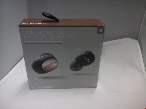 Lot 1019 BOXED SOL REPUBLIC AMPS AIR WIRELESS EARBUDS  RRP £199