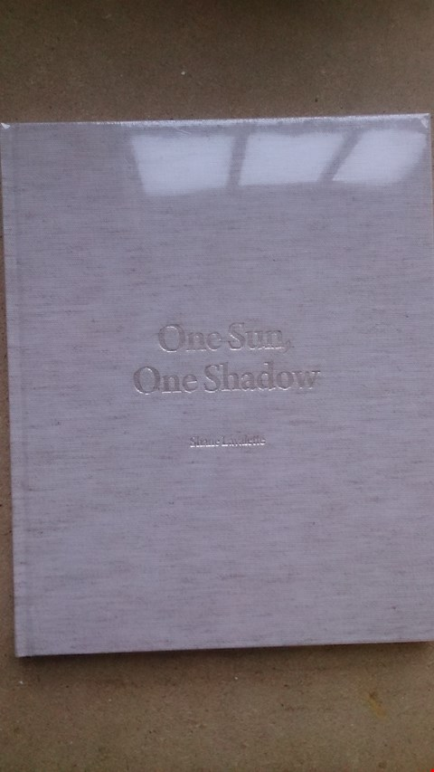 Lot 89 TEN COPIES OF 'ONE SUN, ONE SHADOW' BY SHANE LAVALETTE RRP $65 each total $650