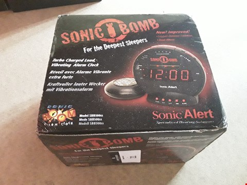 Lot 21 BOXED SONIC BOOM ALARM SYSTEM