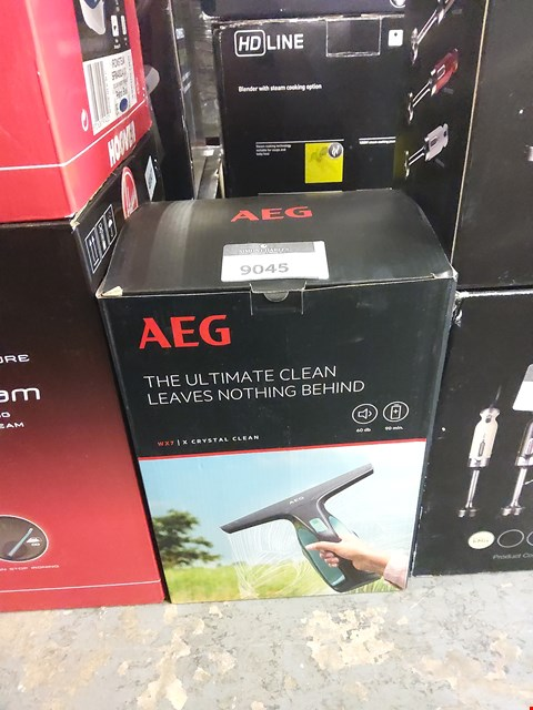 Lot 9045 BOXED AEG WX7 X CRYSTAL CLEAN