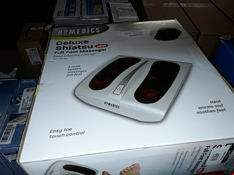 Lot 4923 HOMEDICS DELUXE FULL FOOT SHIATSU MASSAGER