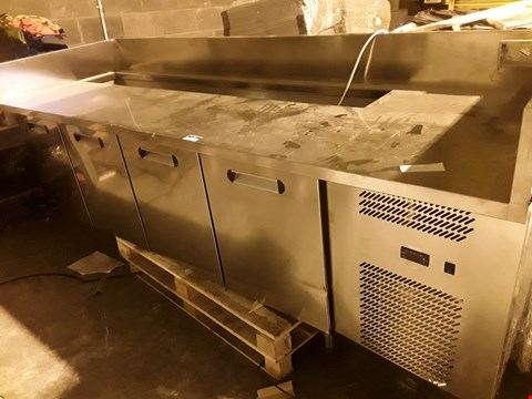 Lot 79 MOD. TOVALO 2600X850 4 DOOR REFRIGERATED COUNTER
