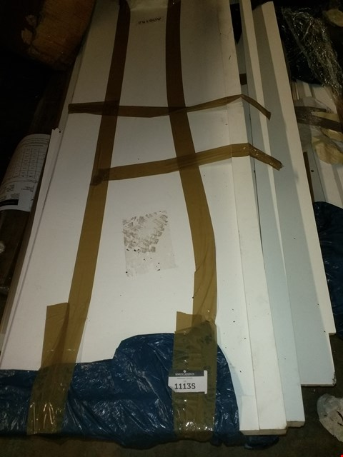 Lot 3140 PALLET OF WARDROBE PARTS