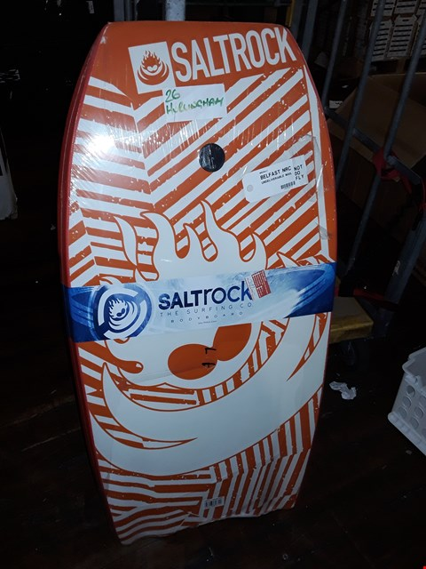 "Lot 8389 FLAME BARK 41"" BODYBOARD - ORANGE"