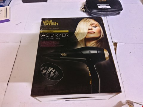 Lot 23 BOXED PHIL SMITH SALON COLLECTION AC DRYER