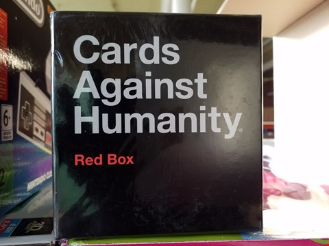 Lot 2138 CARDS AGAINST HUMANITY RED BOX