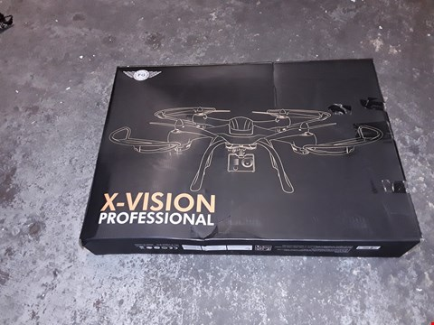 Lot 704 X-VISION PROFESSIONAL DRONE WITH HD CAMERA