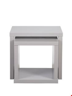 Lot 28 BOXED ECHO BLACK NEST OF TABLES (1 BOX) RRP £259