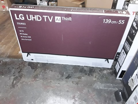 "Lot 3653 LG 55"" UHD 4K HDR SMART LED TELEVISION MODEL 55UK6300PLB RRP £1200.00"