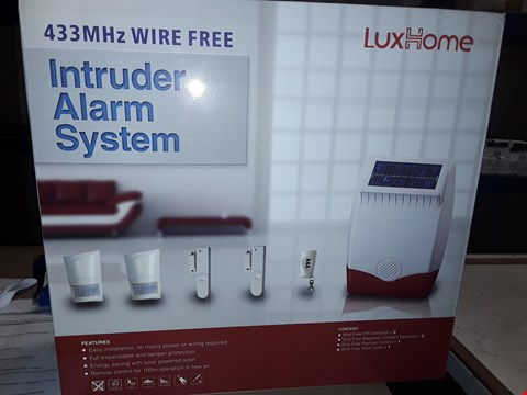Lot 1178 LUXHOME INDRUDER ALARM SYSTEM