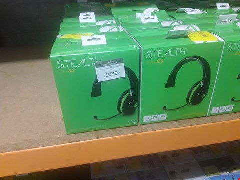 Lot 74 APPROXIMATLEY 20 STEALTH SX-02 STEREO GAMING HEADSETS