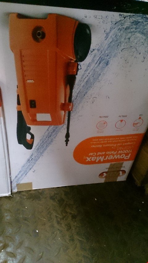 Lot 601 BOXED VAX VRSPW1 POWERMAX PRESSURE WASHER