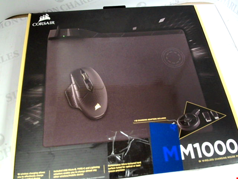 Lot 4008 CORSAIR MM1000 QI WIRELESS CHARGING MOUSE PAD