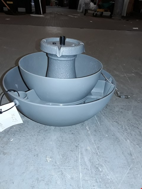 Lot 58 BOXED BIRD FEEDER AND BATH WATER FEATURE