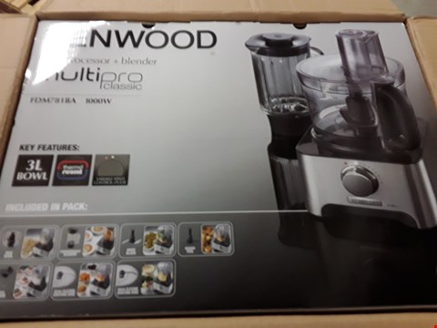 Lot 3035 KENWOOD FOOD PROCESSOR & BLENDER MULTIPRO CLASSIC FDM781BA