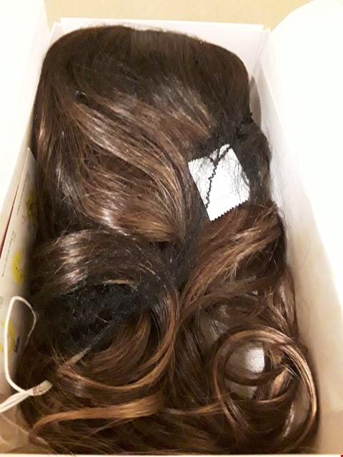 Lot 9053 NORIKO  MARBLE BROWN HAIR EXTENSIONS