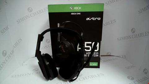 Lot 17154 ASTRO A50 WIRELESS HEADPHONES AND BASE STATION FOR XBOX ONE