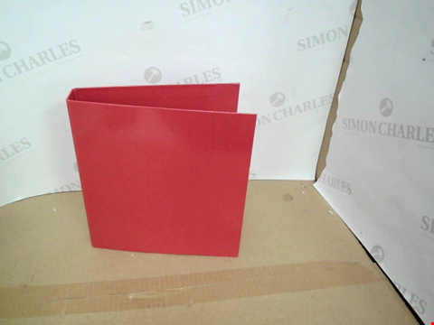 Lot 501 BOX OF APPROXIMATELY 10 ASSORTED RING BINDER FOLDERS
