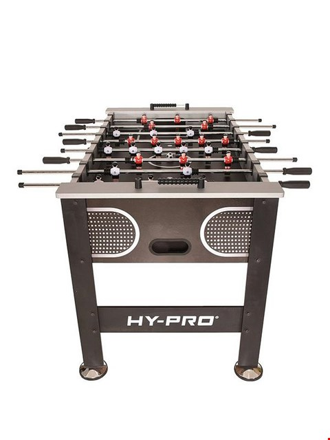Lot 187 BOXED HY PRO 4FT 6 STRIKER FOOTBALL TABLE RRP £249.99