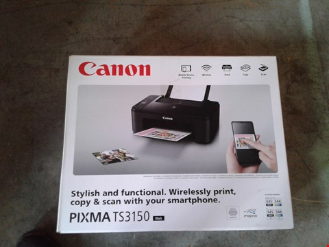 Lot 11091 LOT OF 4 CANON PIXMA TS3150 PRINTERS