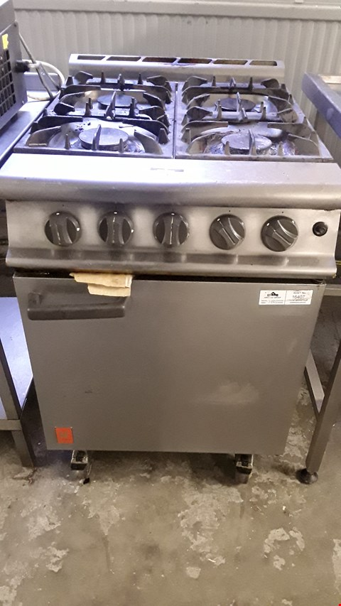 Lot 24 FALCON GAS FIRED 4 HOB RANGE WITH SINGLE DOOR OVEN