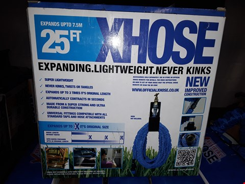Lot 255 25FT XHOSE LIGHTWEIGHT NEVER KINKS