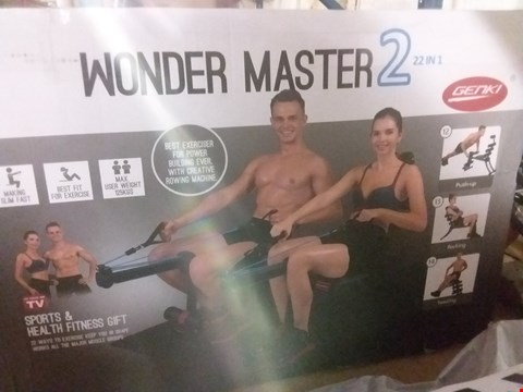 Lot 12787 WONDER MASTER2 22-IN-1 EXERCISE  SET